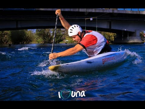 Otvoreno prvenstvo u kajaku i kanuu na rijeci Uni 2014 (ABC.ba)