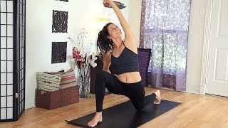 Full Body Yoga Workout - 30 Minute Beginners Total Body Flow