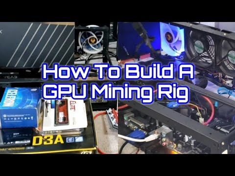 How To Build A Bitcoin Mining Rig | Step By Step | Super Easy & Simple | Noob's Guide To GPU Mining