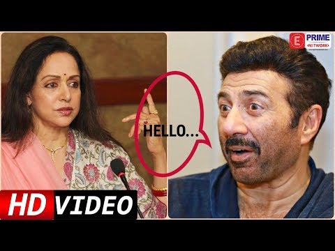 When Sunny Deol TALKED To Hema Malini First Time For Dimple Kapadia  Prime Flashback  EPN
