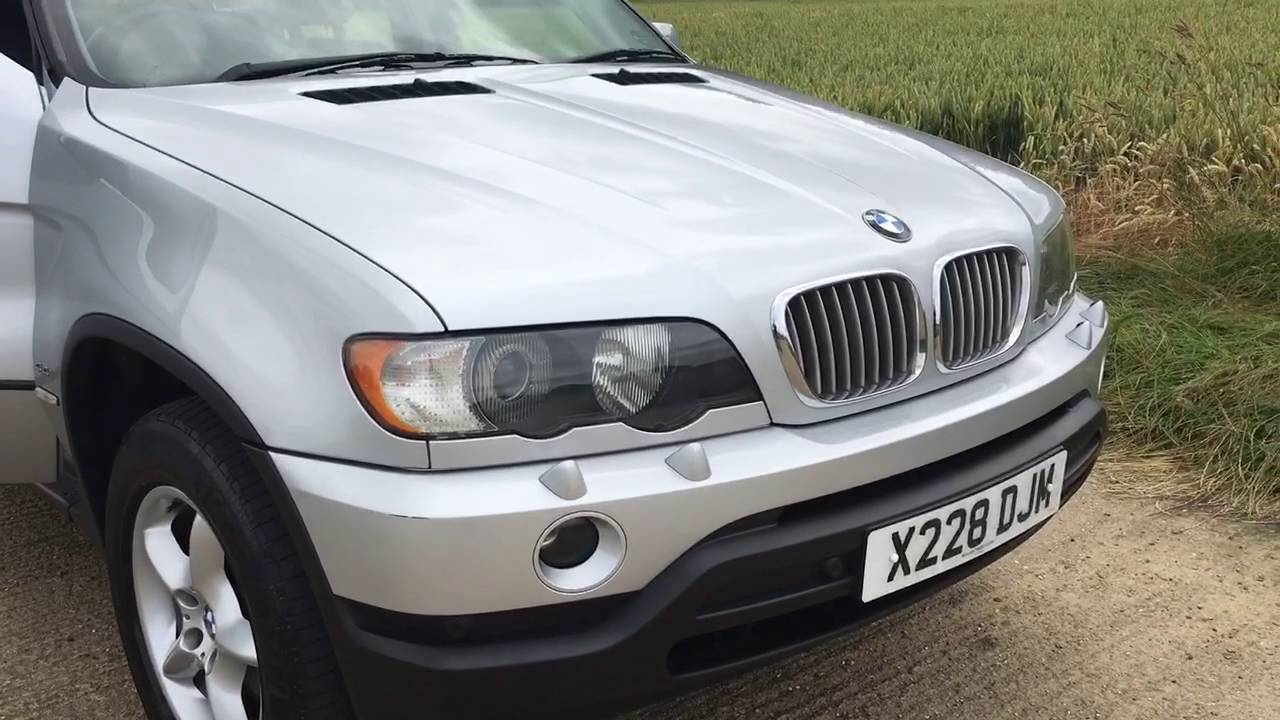 2000 BMW X5 44 V8 ENGINE 4x4 SUV VIDEO REVIEW  YouTube