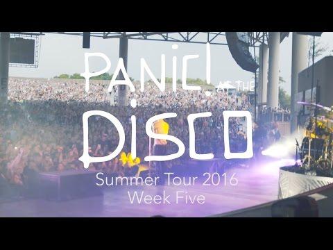 Panic! At The Disco - Summer Tour 2016 (Week 5 Recap)