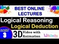 Logical Deduction -3 fce CAT XAT SNAP NMAT IIFT CET CMAT MAT exam preparation