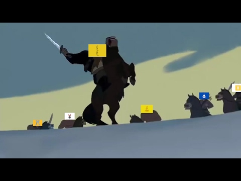 EU4- Fighting with steppe nomads in the mountains