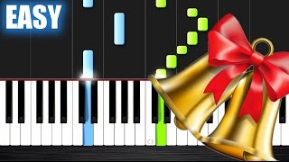 Jingle Bell Rock - EASY Piano Tutorial by PlutaX