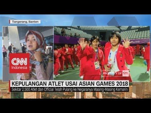 Pelepasan & Kepulangan Atlet Asian Games 2018