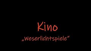 """Lost Places das verlassene Kino """"Weserlichtspiele"""""""