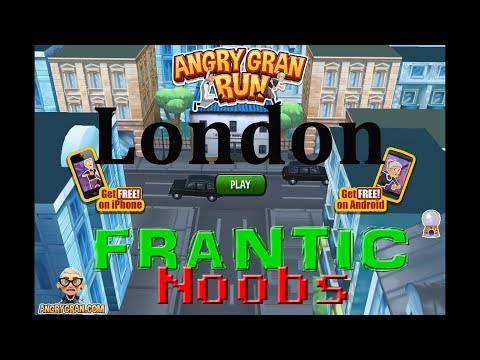 T-Rex with a Top Hat| Angry Gran Run - London