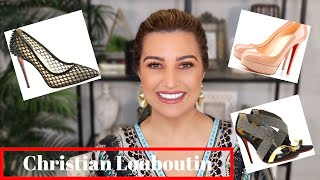 CHRISTIAN LOUBOUTIN SHOE COLLECTION| TRY ON AND REVIEW OF MY COLLECTION