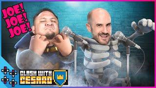 SAMOA JOE & CESARO need to pump it up! - Clash With Cesaro