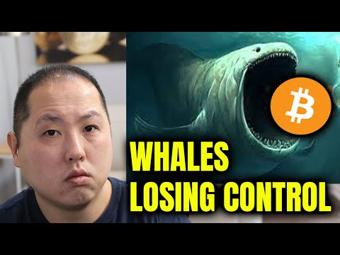 HERE'S WHY BITCOIN WHALES ARE LOSING CONTROL