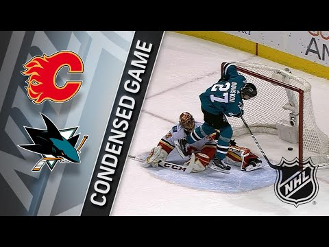 12/28/17 Condensed Game: Flames @ Sharks