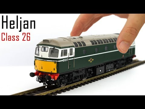 Unboxing the Heljan Class 26