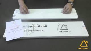 Обзор инфракрасного обогревателя Almac (Алмак)