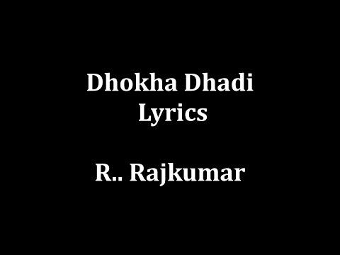 "Dhokha Dhadi lyrics Arijit Singh , Palak Muchhal """