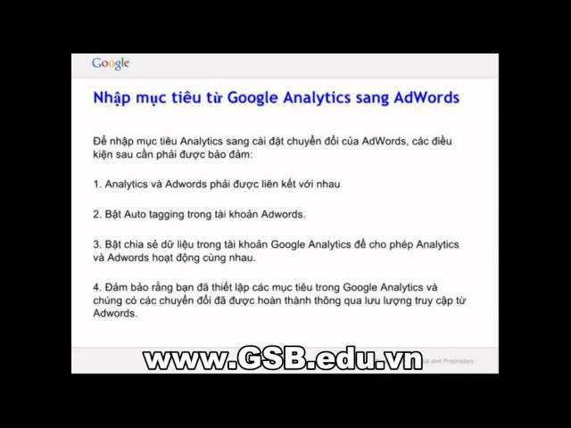 [Nguyễn Hiển AdWords] Tiếp thị lại và theo dõi chuyển đổi với Adwords 31/07/2014 – Nguyễn Hiển AdWords
