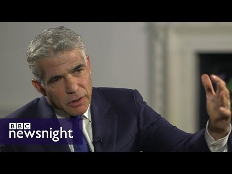 'He has got a problem with Jews': Yair Lapid on Jeremy Corbyn  - BBC Newsnight