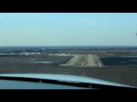 Grumman AA1B Crosswind Landing at KJKJ