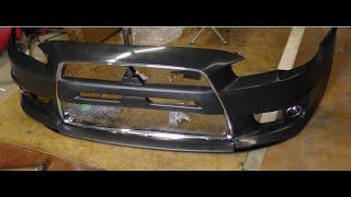 Бампер передний Mitsubishi Lancer Evo x SAILING