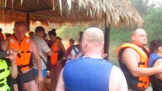 Река Квай. Плот ( The river Kwai. Raft)