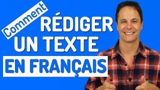 ÉCRIRE EN FRANÇAIS : 8 Conseils pour bien rédiger un texte en français