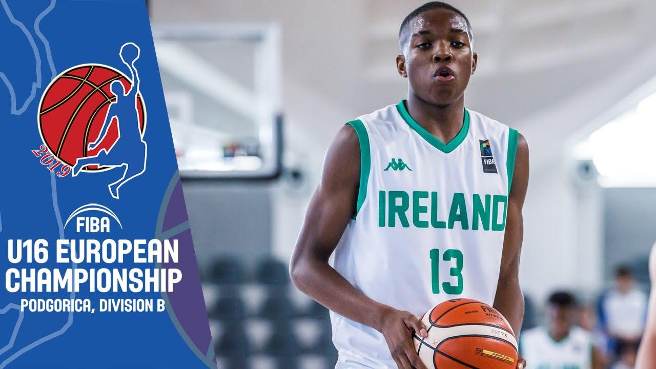 Ireland v Cyprus - Full Game - FIBA U16 European Championship Division B 2019