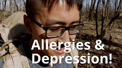 Allergies may be a ROOT cause of your depression!