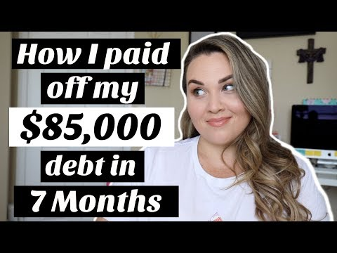 How I Got In & Out of $85,000 DEBT in 7 Months!| Sarah Rae Vargas