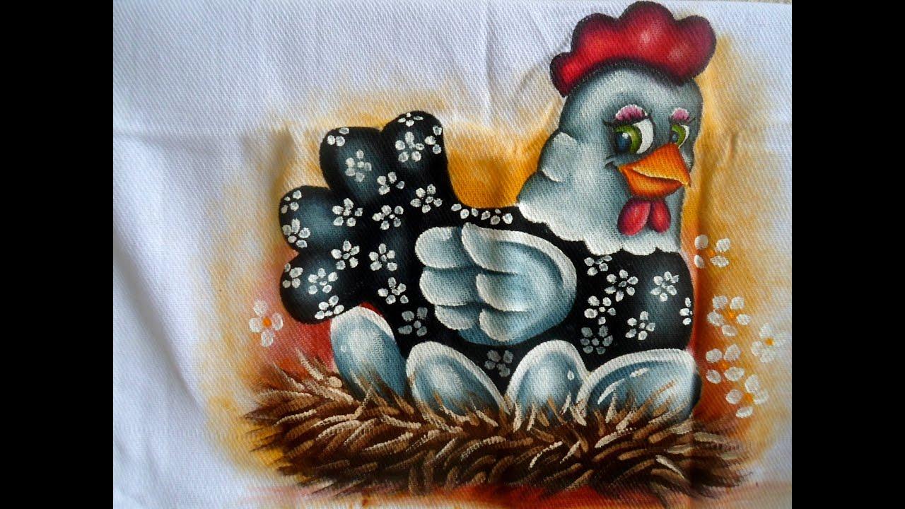 A Galinha Dos Ovo De Ouro Para Colorir pintura em tecido  como pintar uma galinha  em tecido passo a passo   marcos pedro