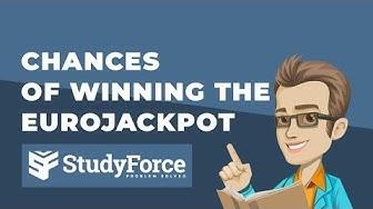 🏆 Chances of winning the EuroJackpot
