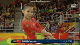 Chunsong Shang CHN Qual Fx Olympics Rio 2016