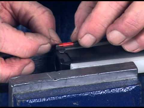 HiViz Pistol Dovetail Type Front Sight Installation Video