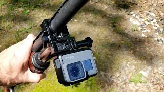 Caddie Buddy GoPro Shotgun Mount - Real World Review