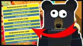 *NEW* USE THESE CODES FOR FREE TICKETS & ROYAL JELLY! | Roblox Bee Swarm Simulator