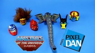 Masters of the Universe Classics Heads of Eternia Pack Video Review