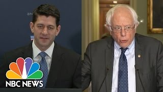 Paul Ryan, Bernie Sanders React To President Donald Trump's Voter Fraud Claims | NBC News