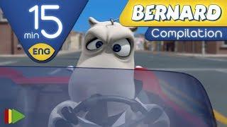 Bernard Bear | Street Racing AND MORE | 15 minutes