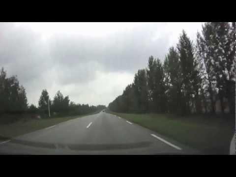 Дорога Щигры - Обоянь - Суджа - Юнаковка (RUS)