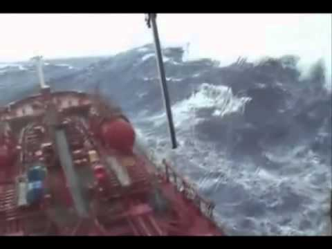 Sealink Swallow Lines Oil Tanker in a storm remix
