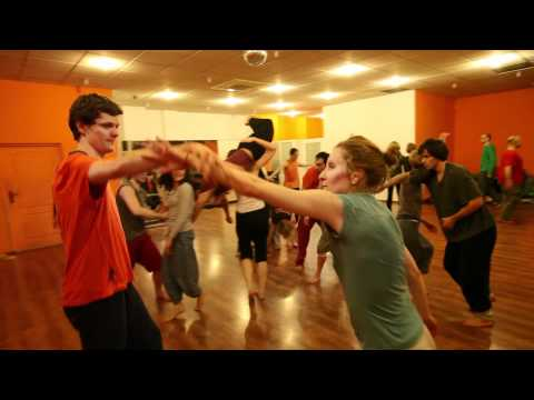 Contact Improvisation - Warsaw Jam