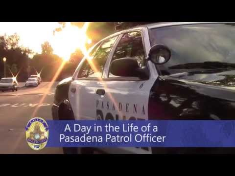 A Day in the Life of a #Pasadena Patrol Officer