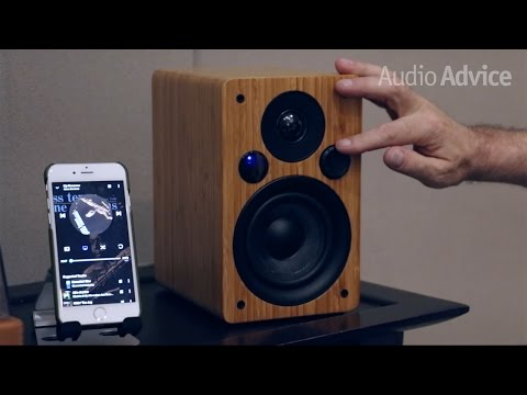 Peachtree M24 Powered Speakers First Look