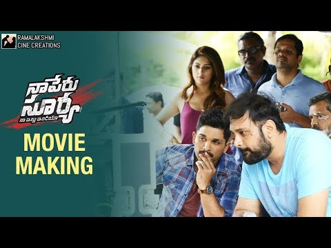 Naa Peru Surya Naa Illu India Full Movie Making | Allu Arjun | Anu Emmanuel | Vakkantham Vamsi