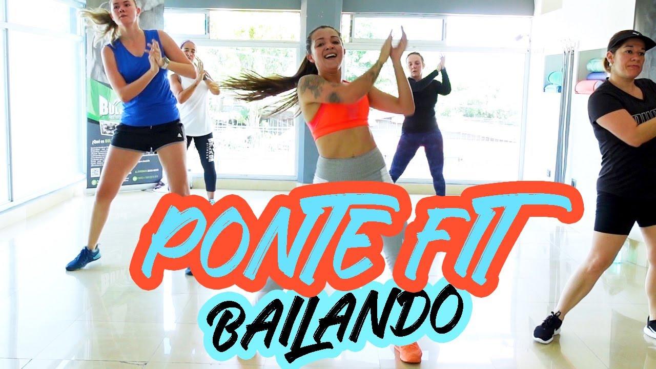 PONTE FIT BAILANDO en CASA - Cardio Dance #67- Non stop Zumba Class - Natalia Vanq