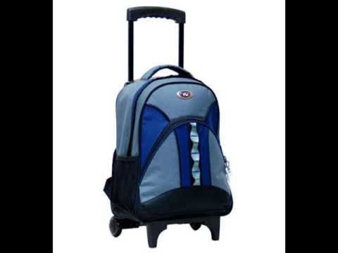 Rolling Backpacks | Wheeled Backpacks - YouTube
