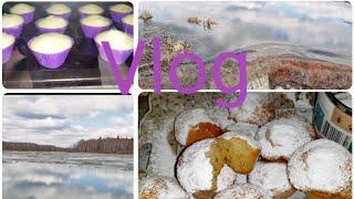 #влог# кекси осонак бо шир природа озера лес прогулка