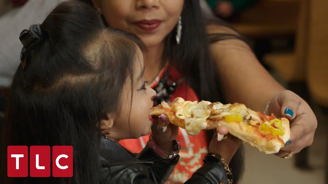 Jyoti Tries American Pizza! | World's Smallest Woman: Meet Jyoti