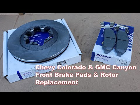 Chevy Colorado Front Brakes and Rotor Replacement 2004-2008 | How to Replace GMC Canyon Brakes