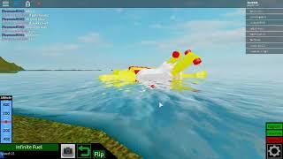 Yellow Submarine in roblox