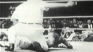 DiFilm - Antonio Gomez defeat Shozo Saijo in Tokyo, Japan 1971
